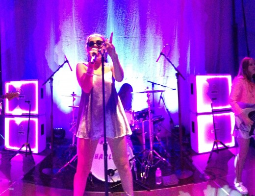 Edgy rising pop star Charli XCX performs in Tishman Commons as part of SBOG's Fall Frenzy.