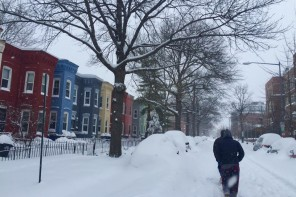 Students' journeys back to campus halted by  historic blizzard Jonas