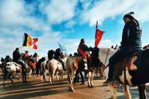 Native American culture threatened in the face of corporation expansion and Pipeline Protests