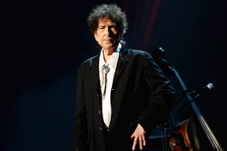 Dylan still has not made an official statement regarding his controversial win Photo by Michael Kovac/WireImage