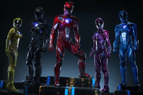New Power Rangers trailer introduces  grittier take on a childhoood favorite