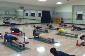 Student instructors bring fitness passion to their classes