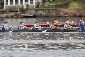 Wellesley Crew Prepares for Head of the Charles