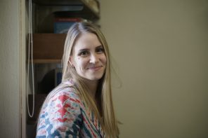 Visiting Professor Lauren Holmes '07 returns to  Wellesley to teach creative writing