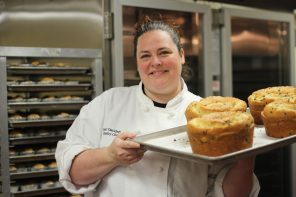 Claflin's pastry chef Lori Davidson channels her passion for educational dining