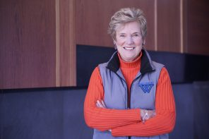 Professor Connie Bauman bridges the gap between sports and medicine in the classroom
