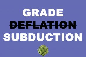 College announces new 'grade subduing' policy