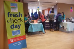 Third annual Fresh Check Day initiates wellness conversation on campus