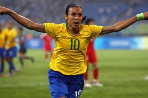 Marta Vieira breaks male and female records in 2018 FIFA Awards
