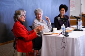 The return of a president: Barbara Newell visits Wellesley