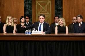 SNL reenacts the Kavanaugh hearing to demonstrate how little we've progressed
