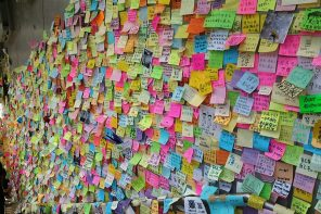 Senate votes down Hong Kong Lennon wall proposal