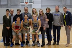 Wellesley Blue beats Emerson during Saturday's Senior Day game