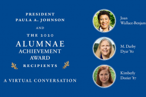 2020 Alumnae Achievement Awards Held Virtually; 3 Awardees Honored