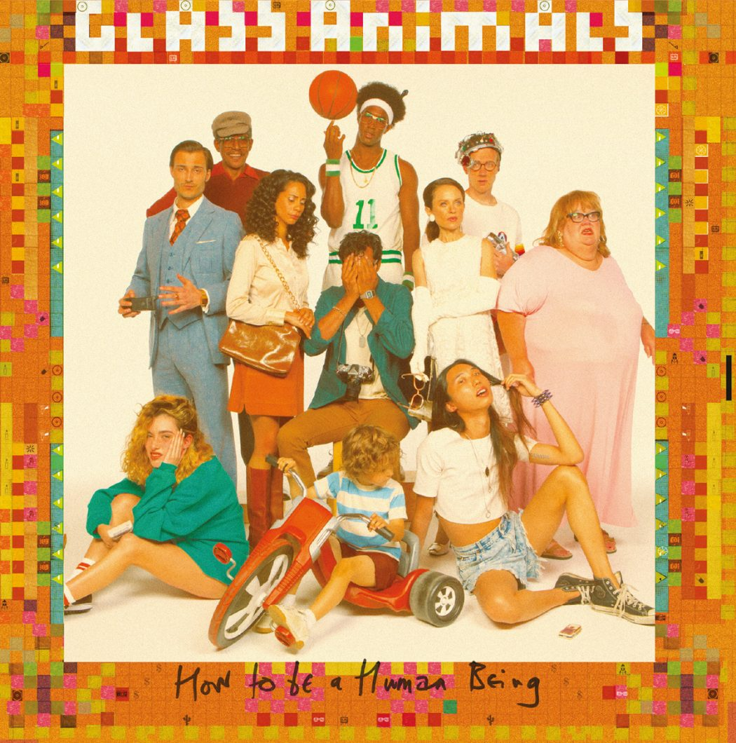 Glass Animals How To Be A Human Being Album Art