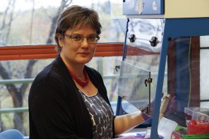 Professor Klepac-Ceraj aspires to kindle students' interest in microbiology