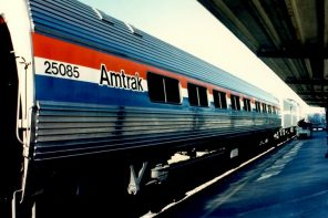 Silly Man on Amtrak