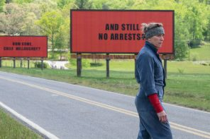 "Life imitates art as ""Three Billboards Outside Ebbing, Missouri"" protest tactic spreads"