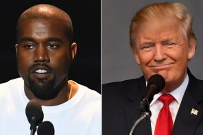 Kanye West overlooks Trump's racism