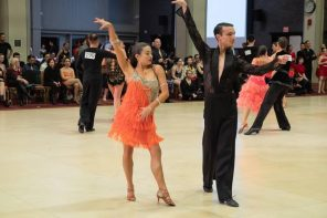 Wellesley's Ballroom Dance Team dazzles at competition