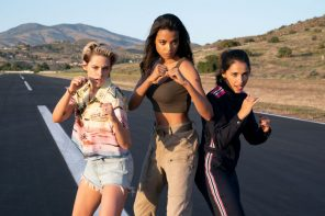 """Charlie's Angels"" confirm it didn't hurt when they fell from heaven"