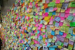 Senate votes down Hong Kong Lennon wall proposal