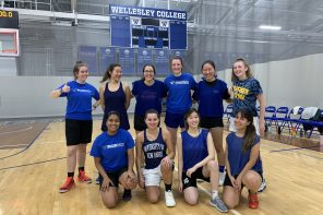 Wellesley's undefeated recreational basketball team gears up for another semester