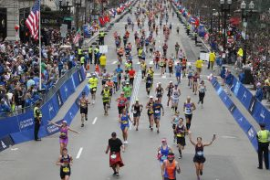 """An enormous privilege"": running the Boston marathon for cancer"