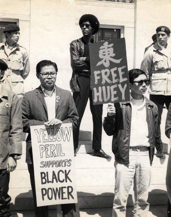 Asian American Protestors