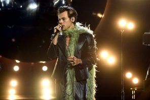 Harry Styles ushers in a new style era at the Grammy Awards